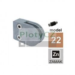 Držák model 22, ZAMAK, JP/63x45mm