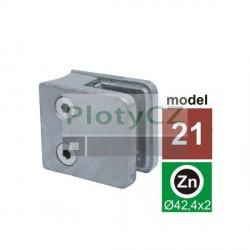 Držák výplně skla model 21 D42,4 - Zamak ZAMAK, D42,4x2