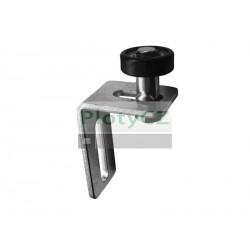 Kolečko nylonové s konzolou H115mm, B40mm, d35mm