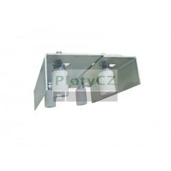 Vedení brány Zn, 140÷170x220mm, H/12-4T