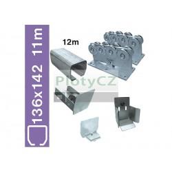 Sada nosné brány SV-136x142 Zn clasic, 136x142x6mm, samonosné brány