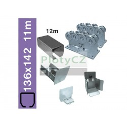Sada nosné brány SV-136x142 clasic, 136x142x6mm, samonosné brány