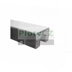 Nerez madlo, držák skla zábradlí AISI304, 60x40, L2500mm, Umakov