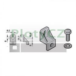Upevňovací úhelník Hormann pro ocelové ozubené hřebeny