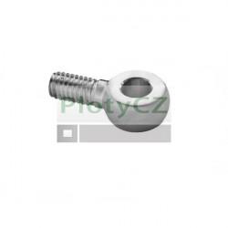 Úchytka lanka, průměr 6mm, kotva AISI304, M10/d6mm