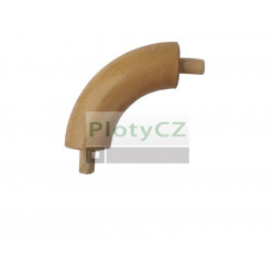 Dřevěné koleno dubové  D42mm - úhel 90°
