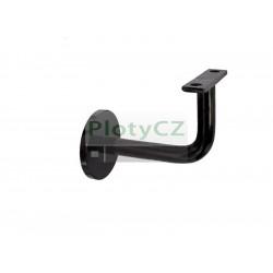 Ocelová černá black konzola pro kotvení madla 90x60mm, M8, D50mm, Umakov