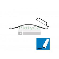 Lomený oblouk, plotový rám P/002-30x5, p200, L800-1000mm
