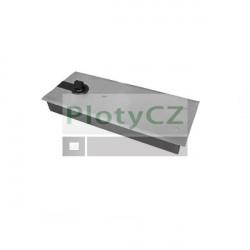 Podlahový samozavírač pro šířka dveří do 1100mm a do 120kg