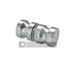 Madlo brus K320 pro skleněné dveře, AISI 304, K320, 32mm