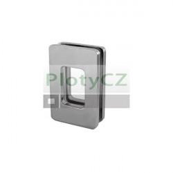 Madlo na posuvné dveře, Ni-Satin, glass t 10, 12mm