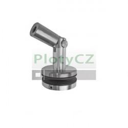 Nerezový komponent, držák skla pro přístřešek GS / PR. Vnitřní závit M12
