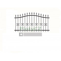 Sada polotovarů na bránu 2000x1000mm, B/05C51-PL-P, polotovary