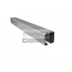 Vodící profil spodního vedení 58x58x3mm, L6(3)m, H8/02-60x60, posuvné samonosné brány