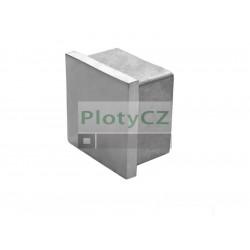 Nerezová záslepka madla 40x40x2mm pro zábradlí AISI 304