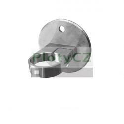 Boční kotvení kruhové D42,4x2mm, AISI304